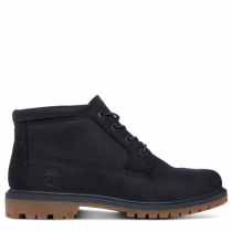 Timberland chaussures pour femme toutes les boots_black waterbuck w/black charred suede collar