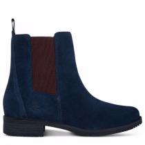 Timberland chaussures pour femme toutes les boots_dark blue suede