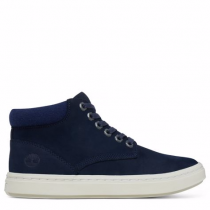 Timberland chaussures pour femme toutes les boots_navy nubuck w/ wool collar