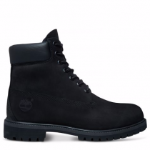 Timberland chaussures pour homme the original 7-inch boot_black nubuck