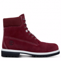 Timberland chaussures pour homme the original 6-inch boot_zinfandel silk suede