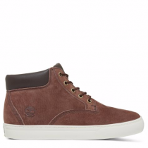 Timberland chaussures pour homme sneakers_dark brown pig nubuck