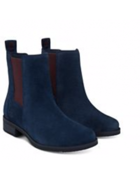 Timberland chaussures pour femme toutes les boots_dark blue suede