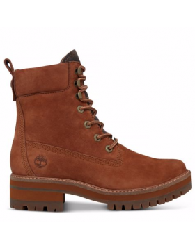 Timberland chaussures pour femme toutes les boots_rust earthybuck w/rubber charred suede