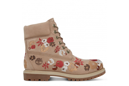 Timberland chaussures pour homme the original 6-inch boot_bone waterbuck embroidered