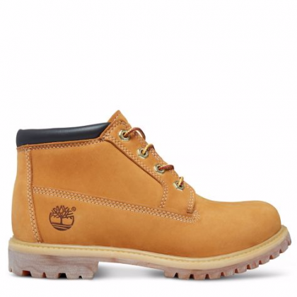 Timberland chaussures pour femme toutes les boots_wheat nubuck with black collar