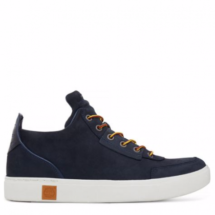 Timberland chaussures pour homme sneakers_navy nubuck