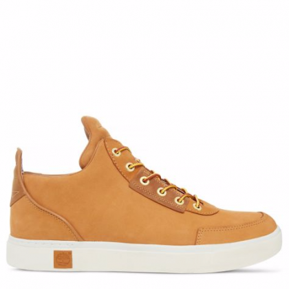 Timberland chaussures pour homme sneakers_wheat nubuck